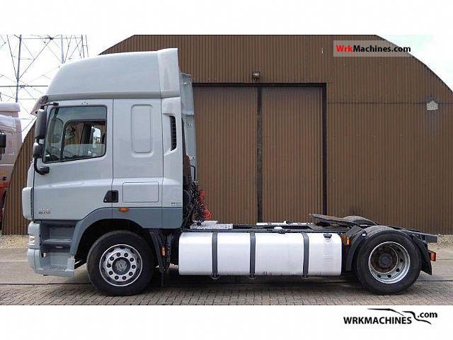 2007 DAF CF 85 85.410 Semi-trailer truck Volume trailer photo