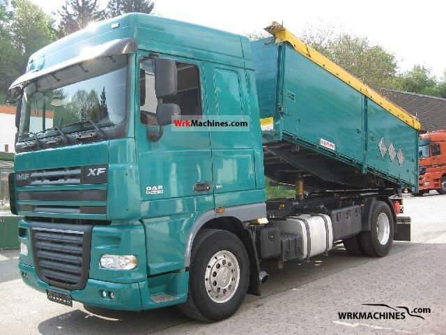 2007 DAF XF 105 105.410 Truck over 7.5t Tipper photo