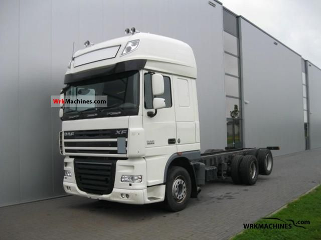 2007 DAF XF 105 105.510 Truck over 7.5t Chassis photo