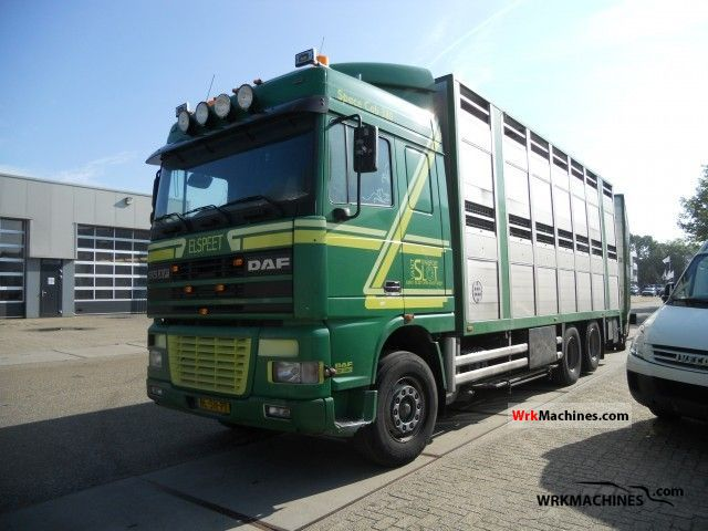 2002 DAF 95 XF 95 XF 380 Truck over 7.5t Horses photo