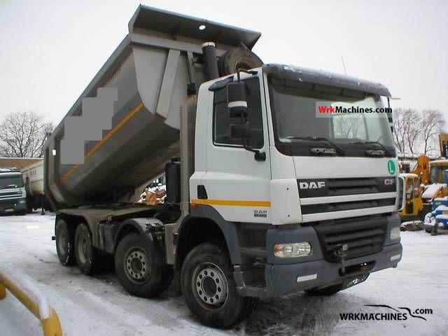 2007 DAF CF 85 85.430 Truck over 7.5t Tipper photo