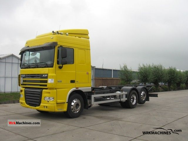 2009 DAF XF 105 105.460 Truck over 7.5t Swap chassis photo