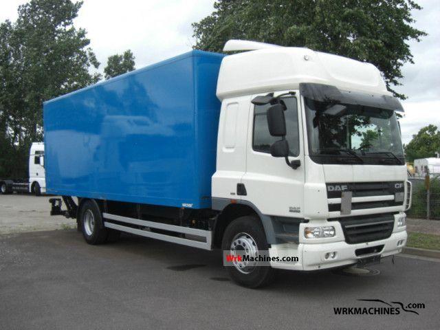 2009 DAF CF 65 65.250 Truck over 7.5t Box photo