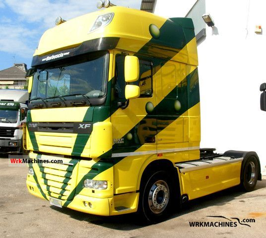 2007 DAF XF 105 105.510 Semi-trailer truck Other semi-trailer trucks photo