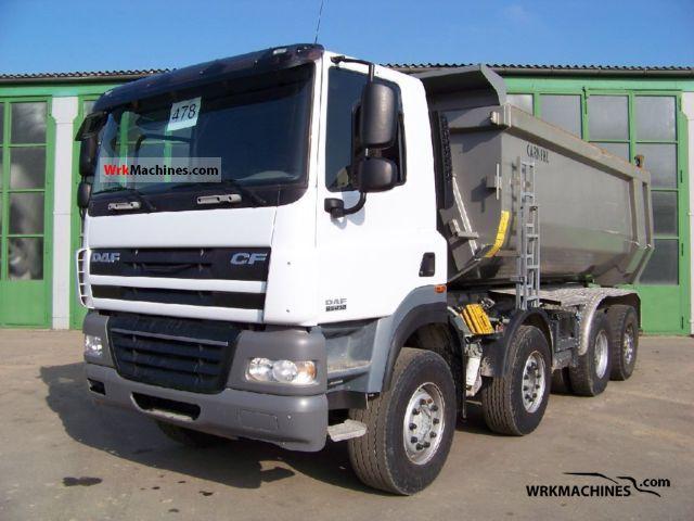 2008 DAF CF 85 85.410 Truck over 7.5t Tipper photo