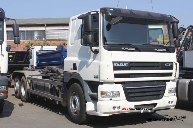 2007 DAF CF 85 85.460 Truck over 7.5t Roll-off tipper photo