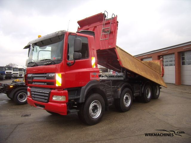 2007 DAF CF 85 85.460 Truck over 7.5t Tipper photo