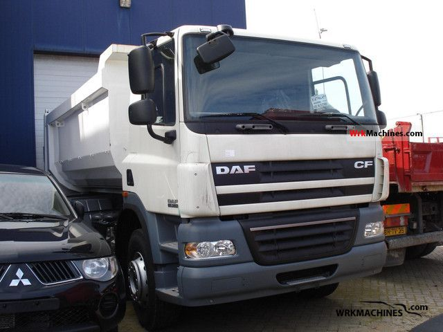 2011 DAF CF 85 85.360 Truck over 7.5t Tipper photo