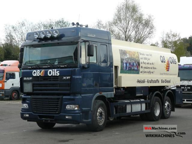 2005 DAF XF 95 95.480 Truck over 7.5t Tank truck photo