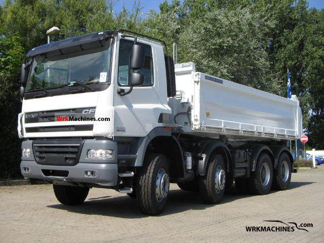 2011 DAF CF 85 85.410 Truck over 7.5t Three-sided Tipper photo