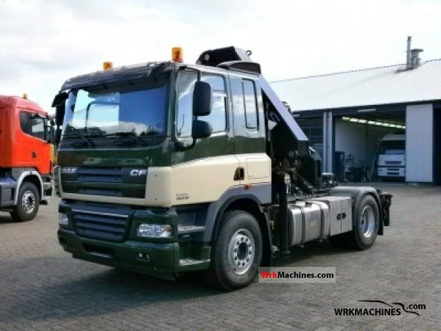 2011 DAF CF 85 85.410 Semi-trailer truck Standard tractor/trailer unit photo