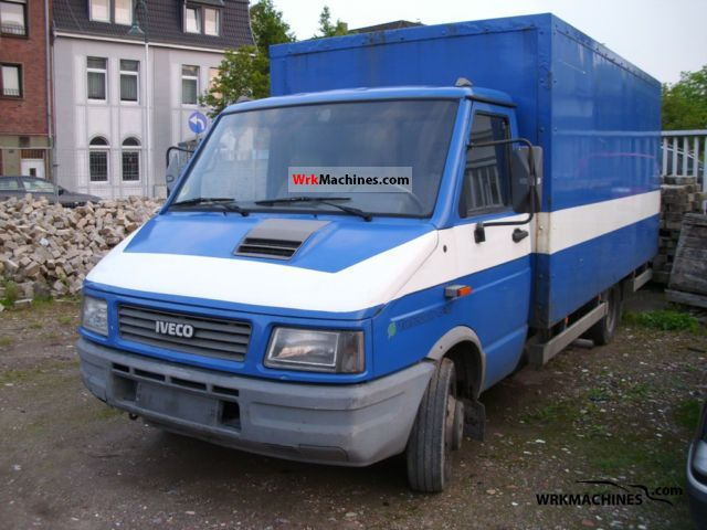 1994 IVECO Daily I 45-10 Van or truck up to 7.5t Box photo