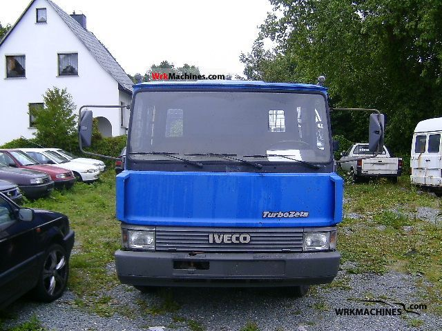 1990 IVECO Zeta 60-11 Van or truck up to 7.5t Breakdown truck photo