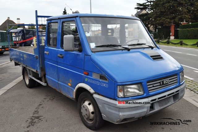 1996 IVECO Daily I 49-10 Van or truck up to 7.5t Stake body photo
