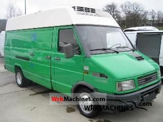 1993 IVECO Daily I 35-8 Van or truck up to 7.5t Refrigerator box photo