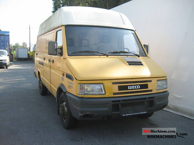 1999 IVECO Daily I 35-8 Van or truck up to 7.5t Box-type delivery van - high and long photo