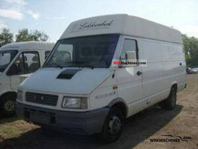 iveco daily i 35 10 1996 box type delivery van high and long photos and info. Black Bedroom Furniture Sets. Home Design Ideas