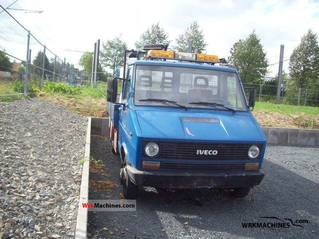 1986 IVECO Daily I 35-8 Van or truck up to 7.5t Stake body photo
