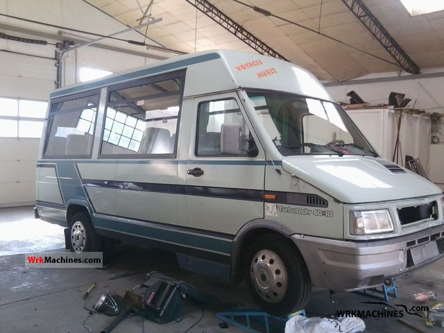 1992 IVECO Daily I 40-10 Coach Clubbus photo