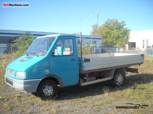 1990 IVECO Daily I 49-10 Van or truck up to 7.5t Stake body photo