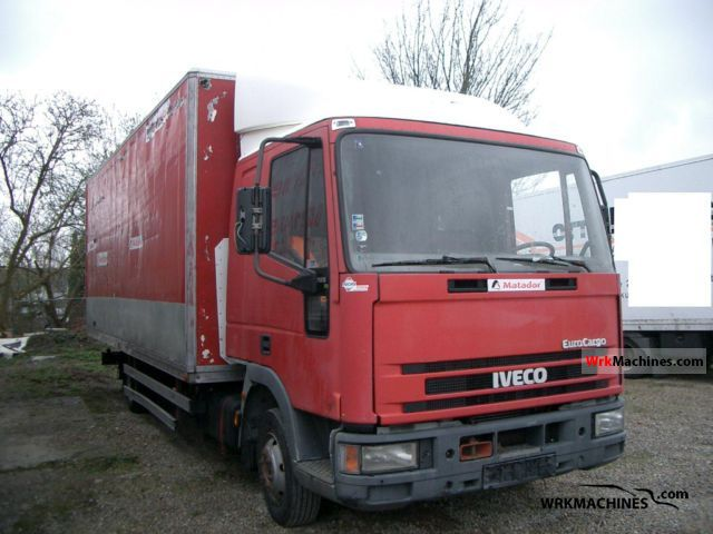 1997 IVECO EuroCargo 75 E 15 Truck over 7.5t Box photo