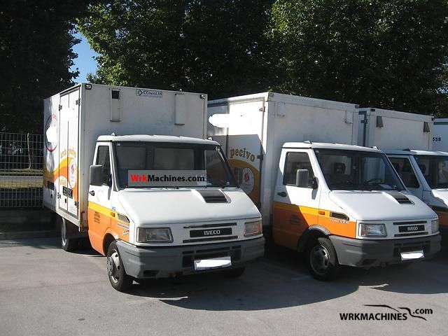 1999 IVECO Daily I 35-10 Van or truck up to 7.5t Box-type delivery van photo