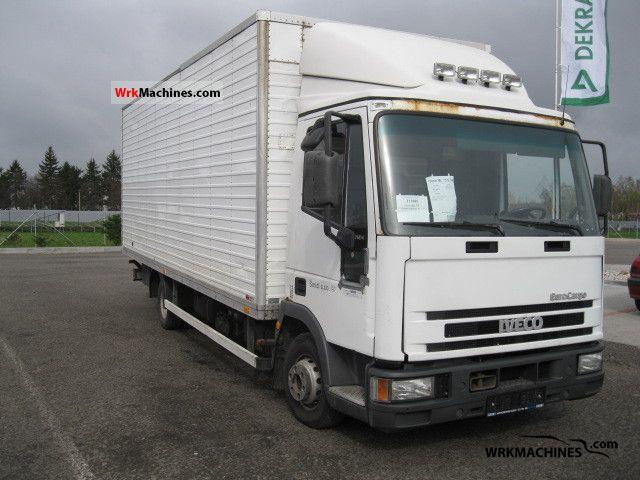 2000 IVECO EuroCargo 75 E 14 Truck over 7.5t Box photo
