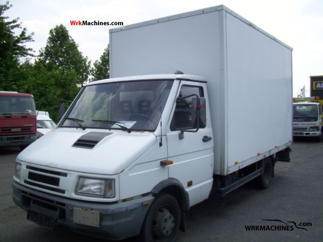 1996 IVECO Daily I 49-10 Van or truck up to 7.5t Box photo