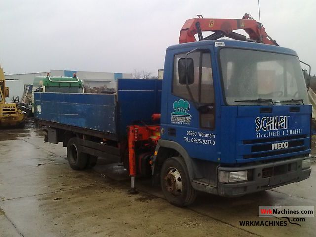 1994 IVECO EuroCargo 75 E 14 Truck over 7.5t Stake body photo