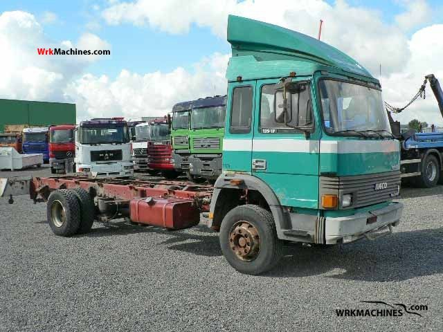 1987 IVECO M 135-17 Truck over 7.5t Box photo