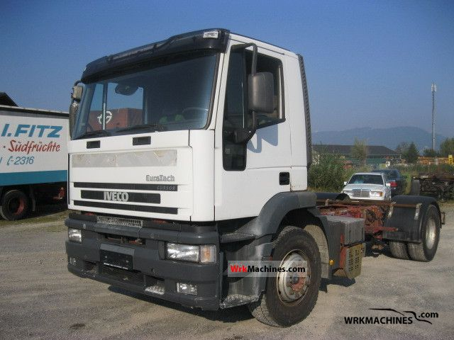 2001 IVECO EuroTrakker 190 Truck over 7.5t Chassis photo