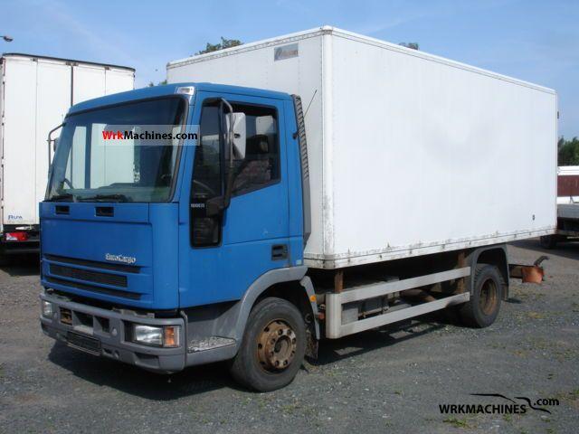 1994 IVECO EuroCargo 100 E 15 Truck over 7.5t Box photo