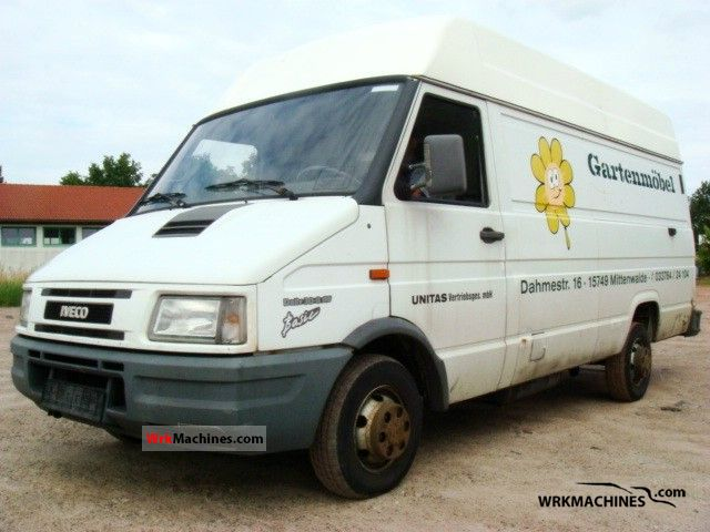 1998 IVECO Daily I 30-8 Van or truck up to 7.5t Box-type delivery van - high photo