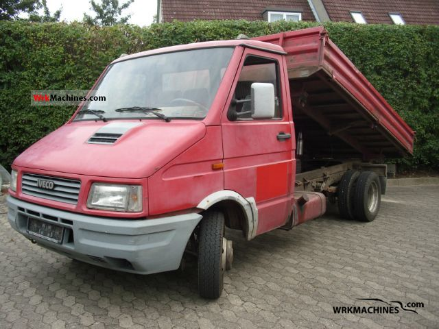 1991 IVECO Daily I 45-10 Van or truck up to 7.5t Tipper photo