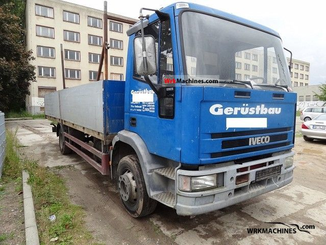 1994 IVECO EuroCargo 120 E 15 Van or truck up to 7.5t Stake body photo