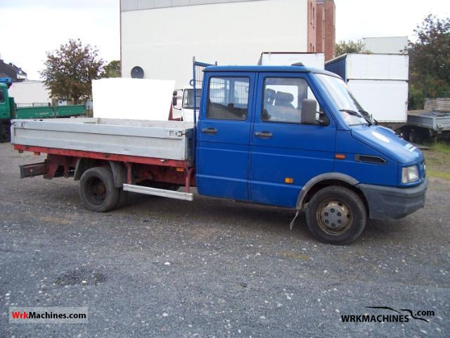 1997 IVECO Daily I 49-10 Van or truck up to 7.5t Stake body photo