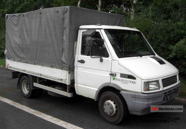 1994 IVECO Daily I 59-12 Van or truck up to 7.5t Stake body and tarpaulin photo