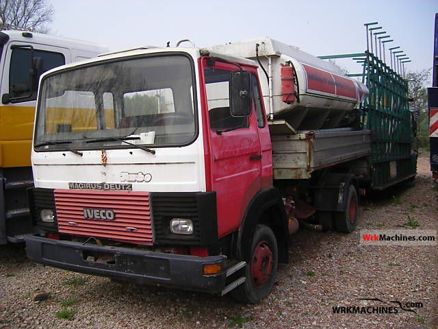 1986 IVECO MK 80-16 Van or truck up to 7.5t Tipper photo