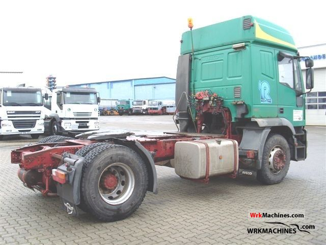 iveco eurotech mp mp standard tractortrailer unit info