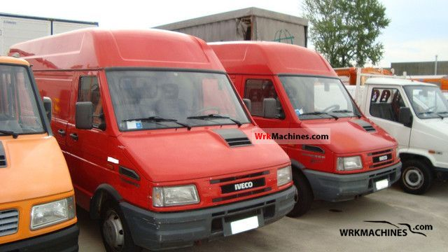 1998 IVECO Daily I 35-10 Van or truck up to 7.5t Box-type delivery van photo