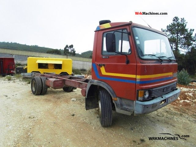 1986 IVECO Zeta 109-14 Truck over 7.5t Chassis photo