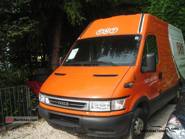 2006 IVECO Daily II 35 S 11 Van or truck up to 7.5t Box-type delivery van - high and long photo
