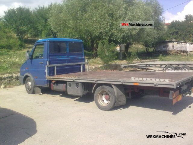1999 IVECO Daily I 35-12 Van or truck up to 7.5t Stake body photo