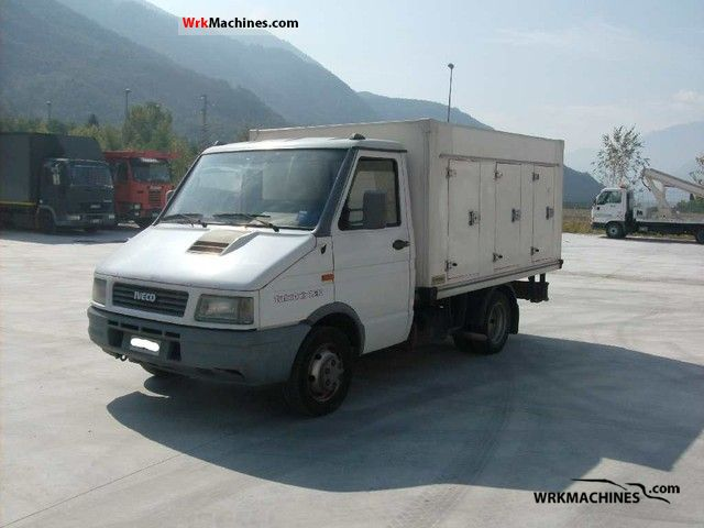 1995 IVECO Daily I 35-10 C Van or truck up to 7.5t Refrigerator box photo