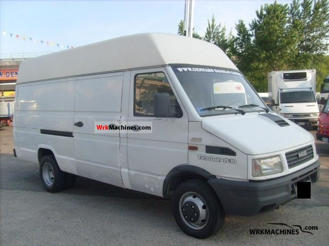 1993 IVECO Daily I 35-10 Van or truck up to 7.5t Box photo