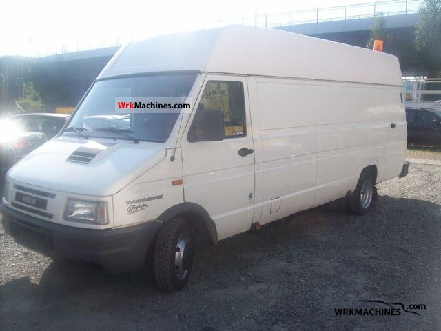 1998 IVECO Daily I 35-10 Van or truck up to 7.5t Box-type delivery van - high and long photo