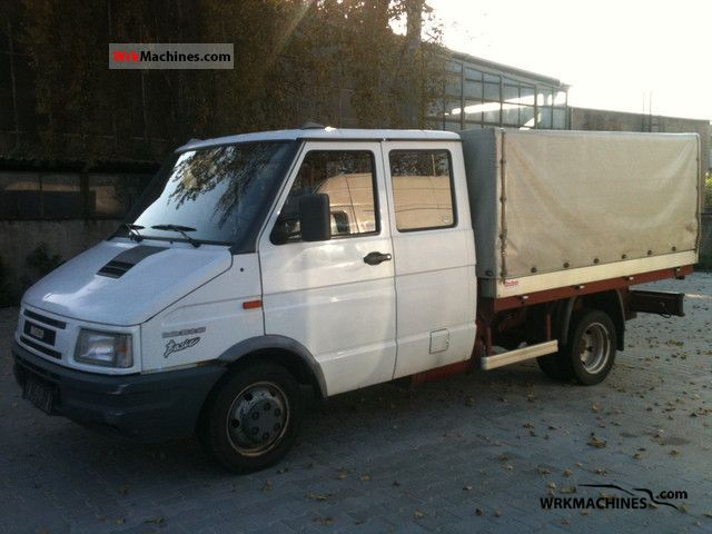 1998 IVECO Daily I 35-8 Van or truck up to 7.5t Stake body photo