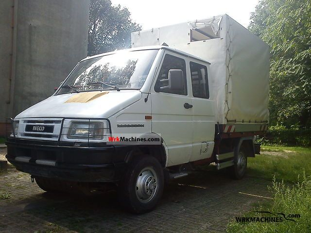 1998 IVECO Daily I 40-10 Van or truck up to 7.5t Box-type delivery van photo