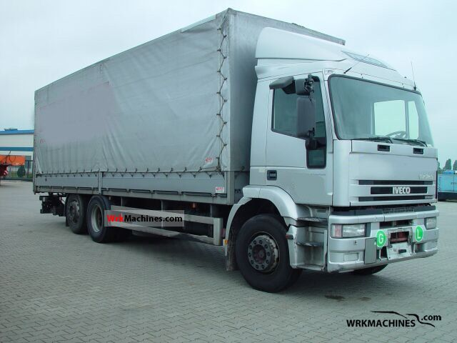 2000 IVECO EuroTech MH 260 E 27 Truck over 7.5t Stake body and tarpaulin photo