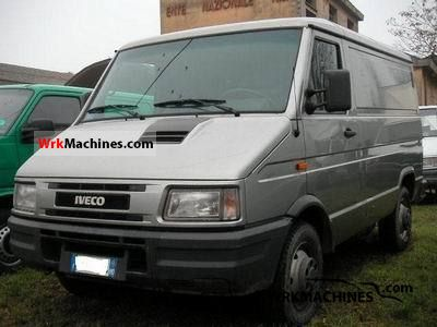 1999 IVECO Daily I 35-12 Van or truck up to 7.5t Box-type delivery van photo